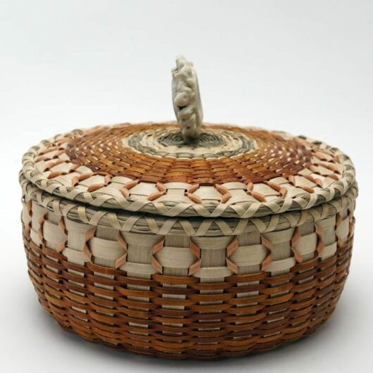 Buy Sarah Sockbeson Small Point Wooden Basket