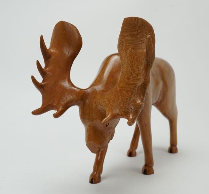 Robbie Craig cherry wood moose