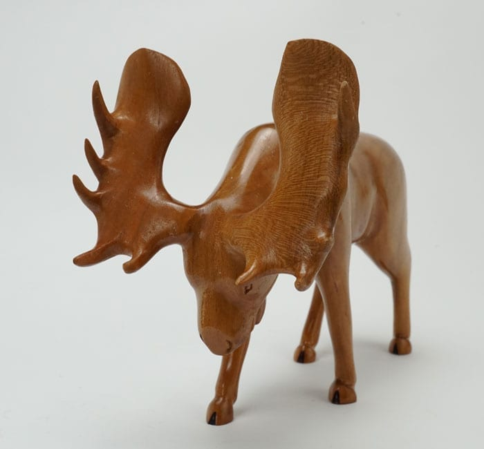 Robbie Craig cherry wood moose