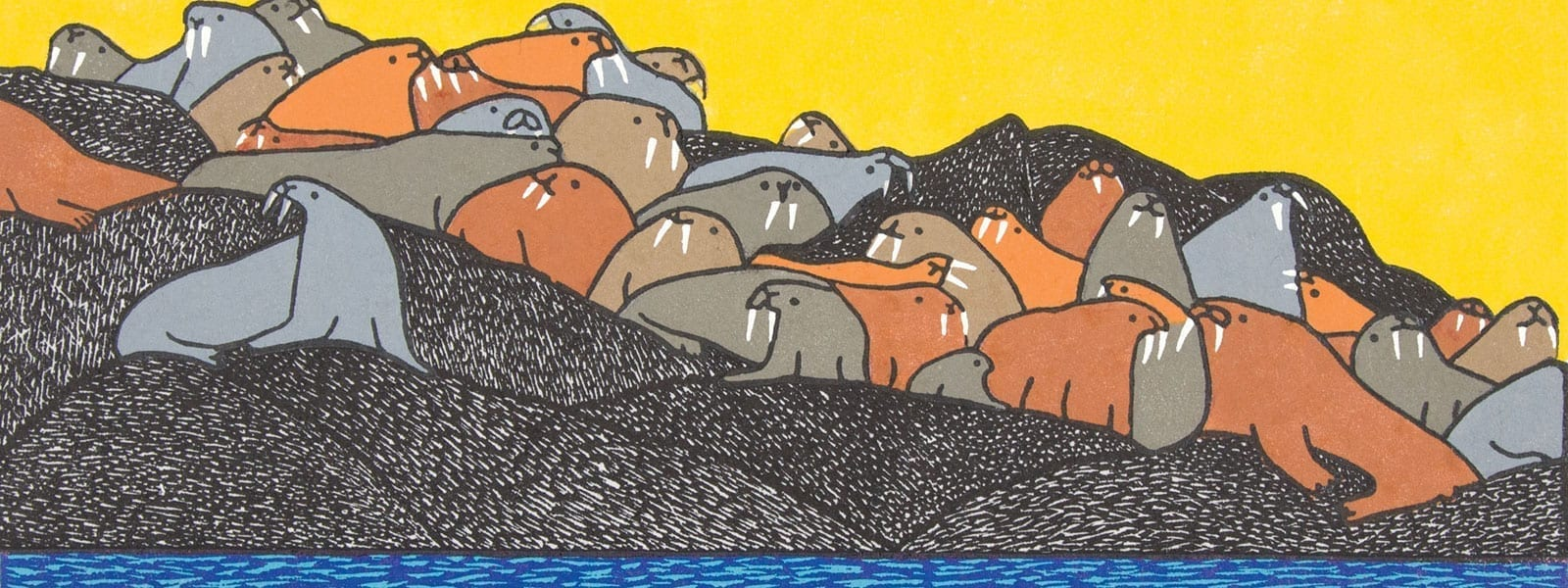 Cape Dorset Print Collection 208