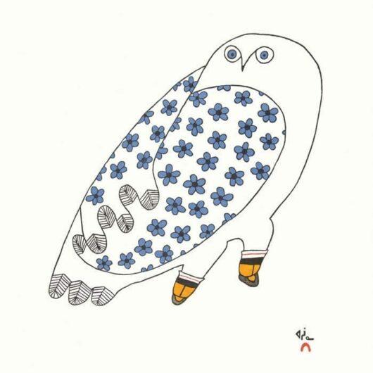NINGIUKULU TEEVEE Blossoming Owl