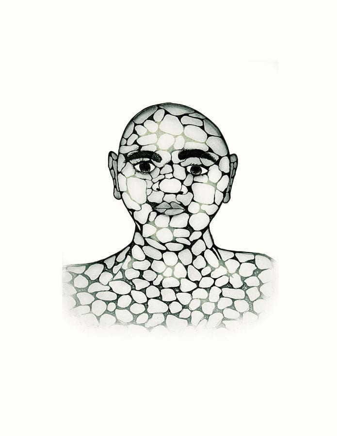 Padloo Samayualie Pebble Man
