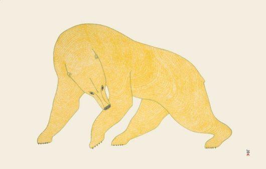 Quvianaqtuk Pudlat Mighty Bear