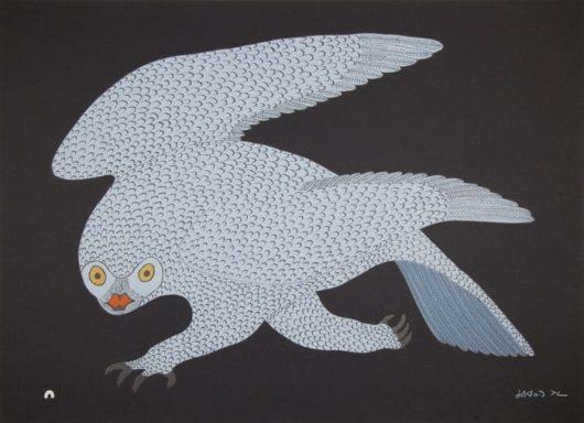 Quvianaqtuk Pudlat Stalking Owl