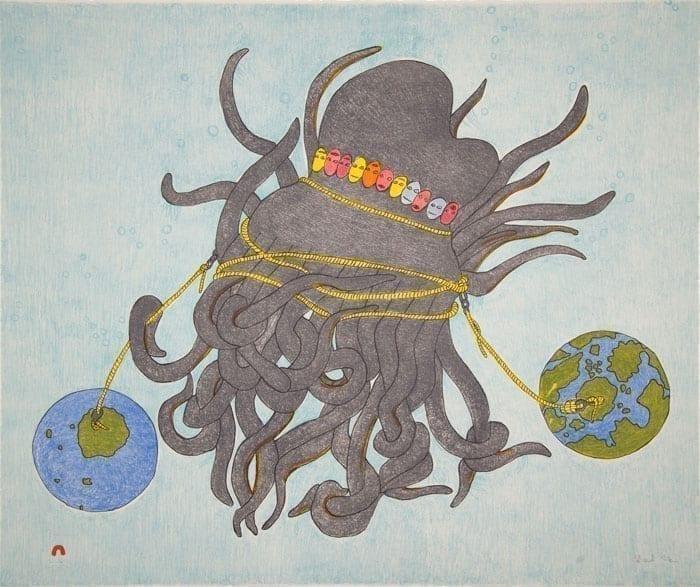 Shuvinai Ashoona Tentacles