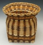 Agnes Welch Oak Planter Basket