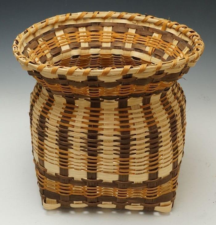 Agnes Welch Oak Planter Basket