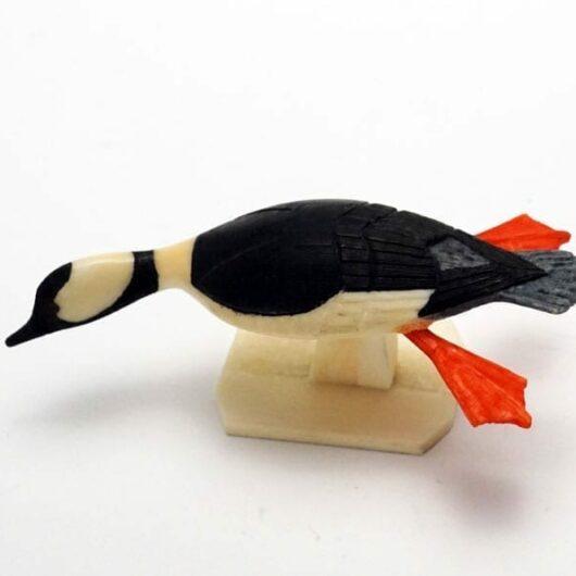Al Mayac ivory bufflehead duck