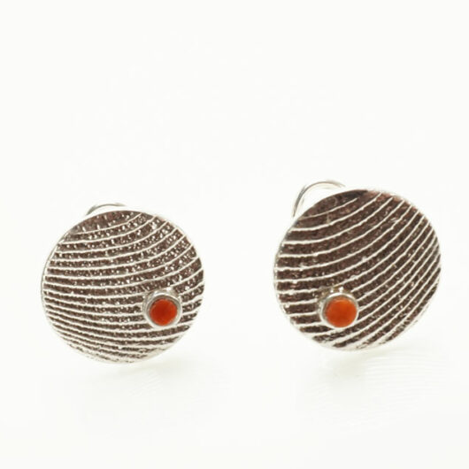 Althea Cajero Cuttlefish Cast Coral Earrings