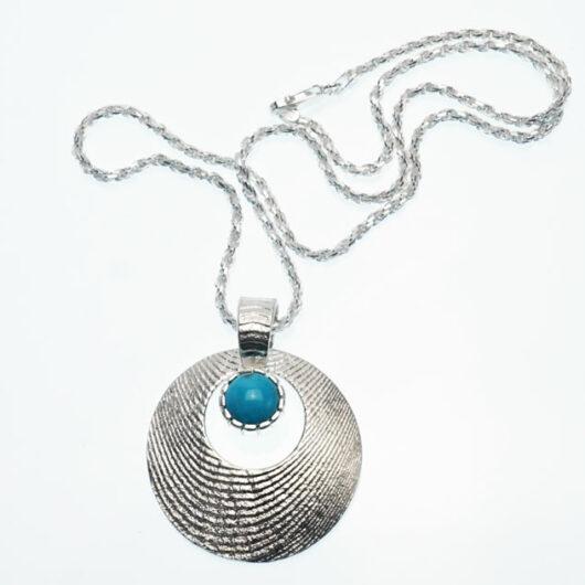 Althea Cajero turquoise necklace