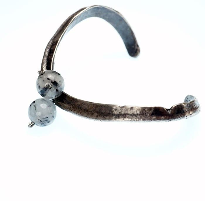 David-Gaussoin-cast-sterling-silver-bracelet-SWJ01702-2