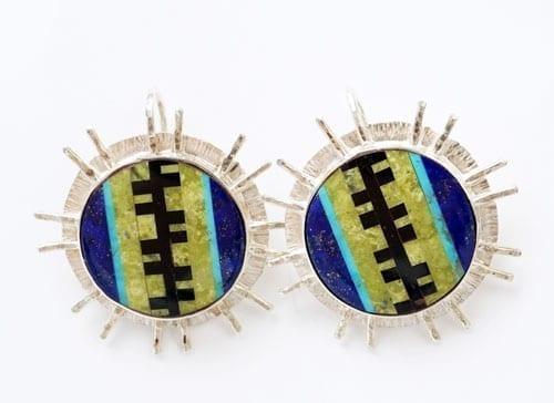 Decontie & Brown Wabanaki vine earrings