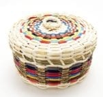 Dolly Barnes round basket