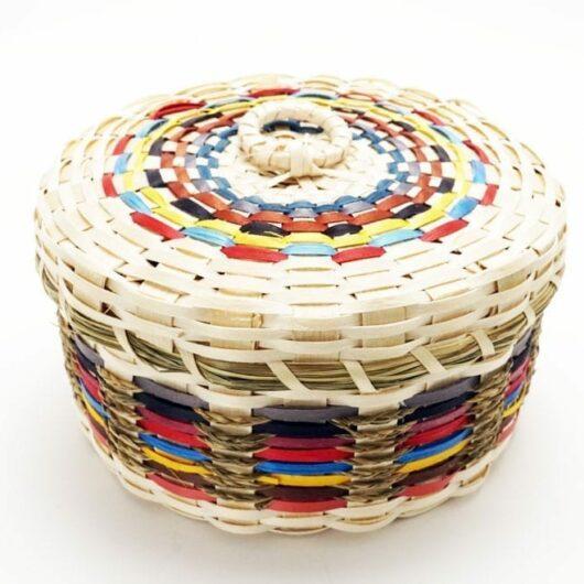 Dolly Barnes round basket