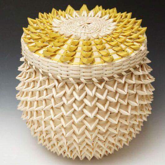 Gal Frey Basket Yellow Points