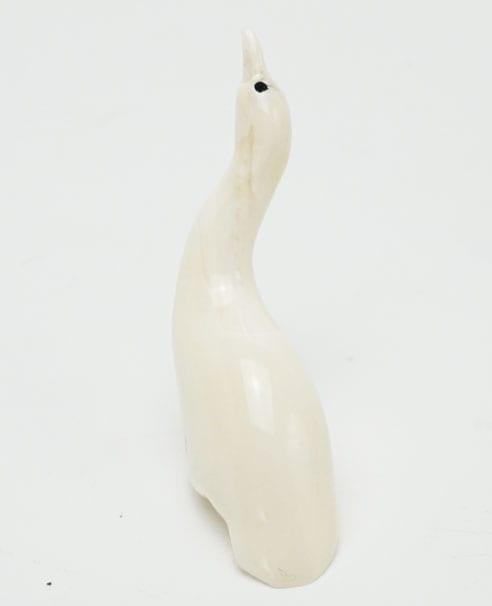 Vintage ivory goose