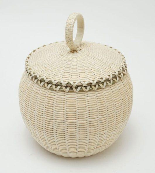Jeremy Frey fine weave basket