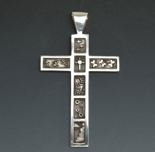 Joe Cajero Divinity Series Sterling Silver Cross