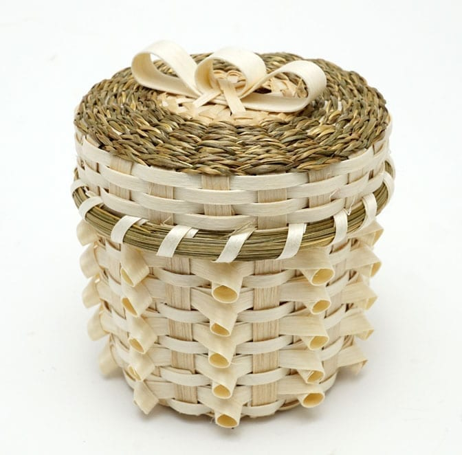Kenny Keezer small natural curl basket