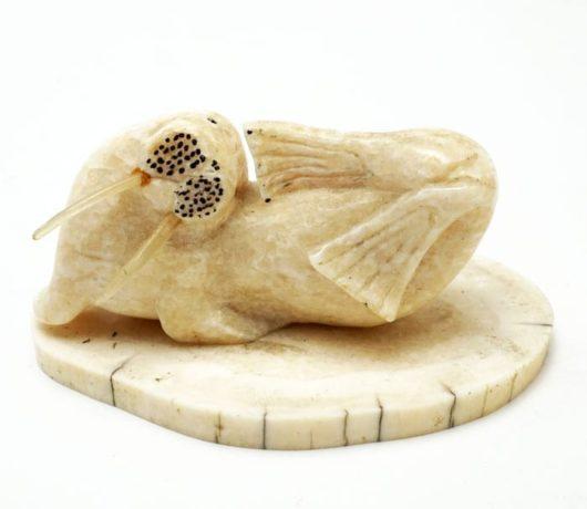Larry Aningayou ivory walrus