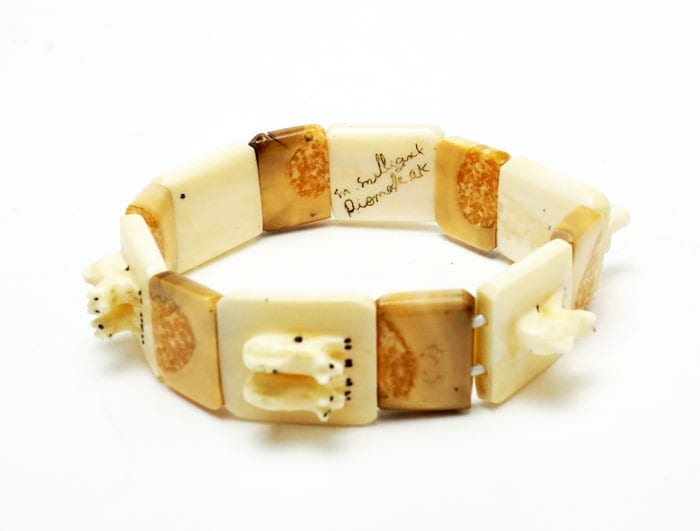 Lincoln Milligrock Ivory Sled Dog Team Bracelet