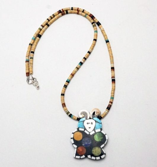 Mary Tafoya Butterfly Necklace