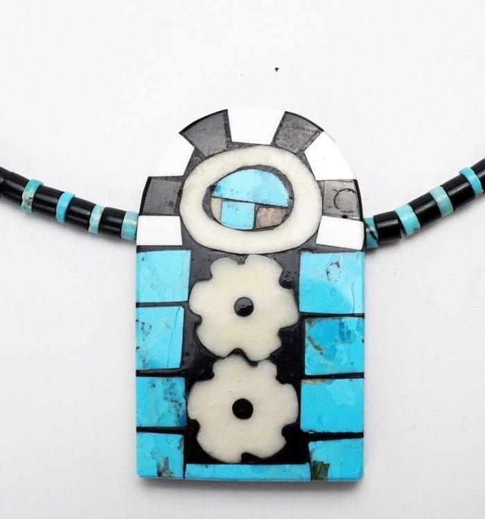 Mary Tafoya archway necklace