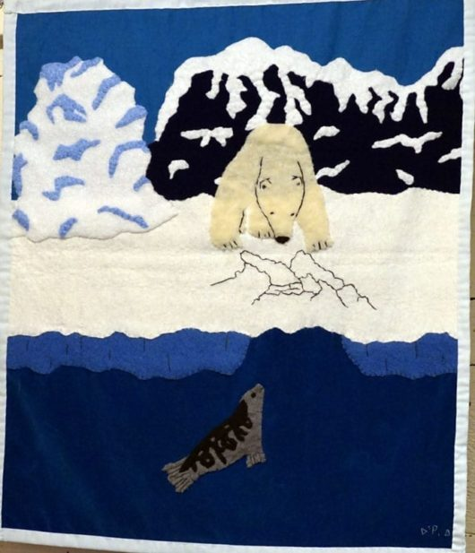 Oqqi Inutik Nanuq Waits Wallhanging