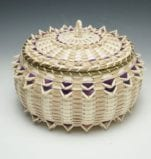 Pam Cunningham Point Basket with Wool