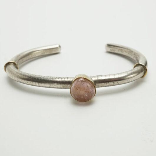 Shawn Bluejacket pink tourmaline bracelet