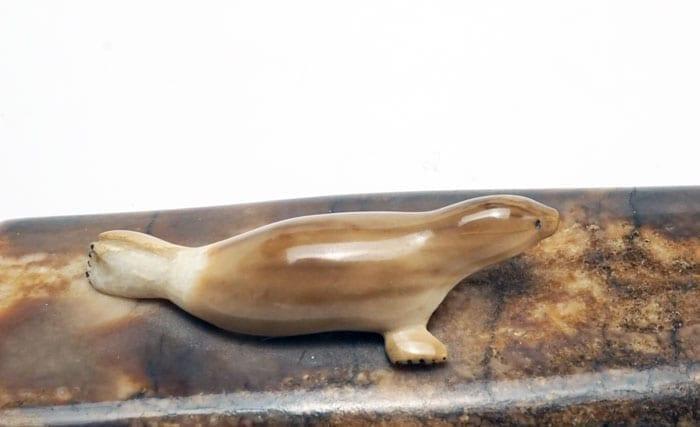 Ivory ice flow seals