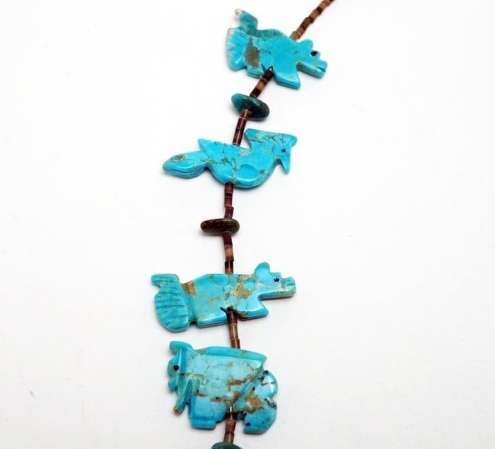 Zuni-turquoise-animal-necklace-SWJ01670-3