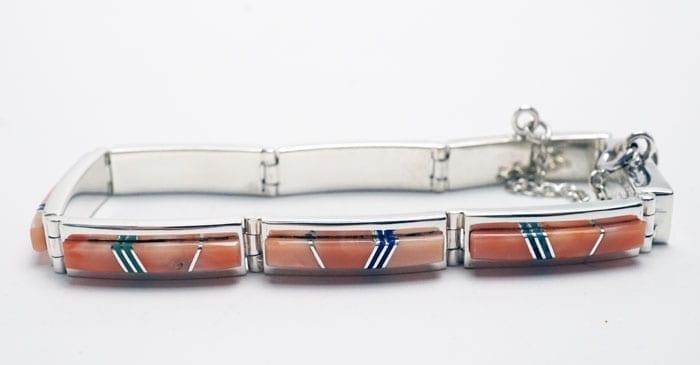 Earl Plummer pink coral bracelet plus