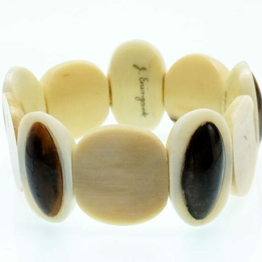 J Eningowuk ivory bracelet