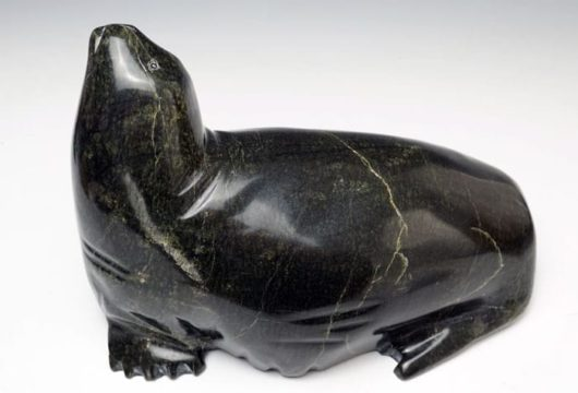 Ningeosak Ashoona Resting Seal