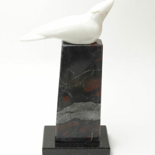 Cliff Fragua dove sculpture