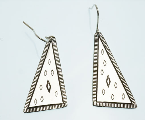 JJ Otero Geometric Design Earrings