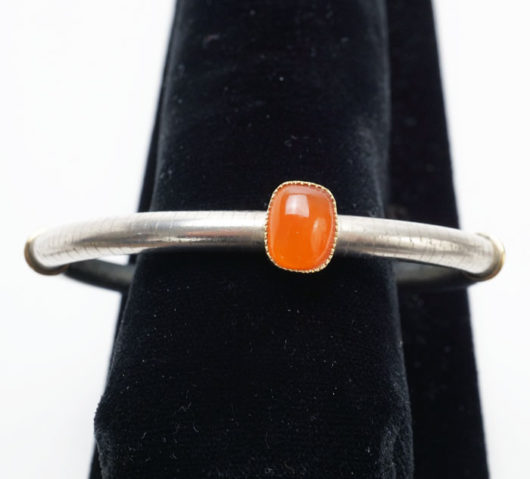 Shawn Bluejacket Orange Citrus Chalcedony bracelet