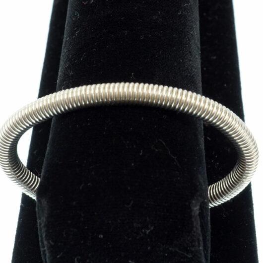 Decontie & Brown coiled Argentium bracelet