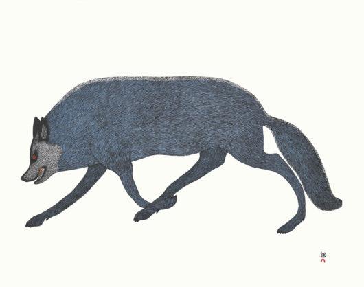 QUVIANAQTUK PUDLATTundra Wolf