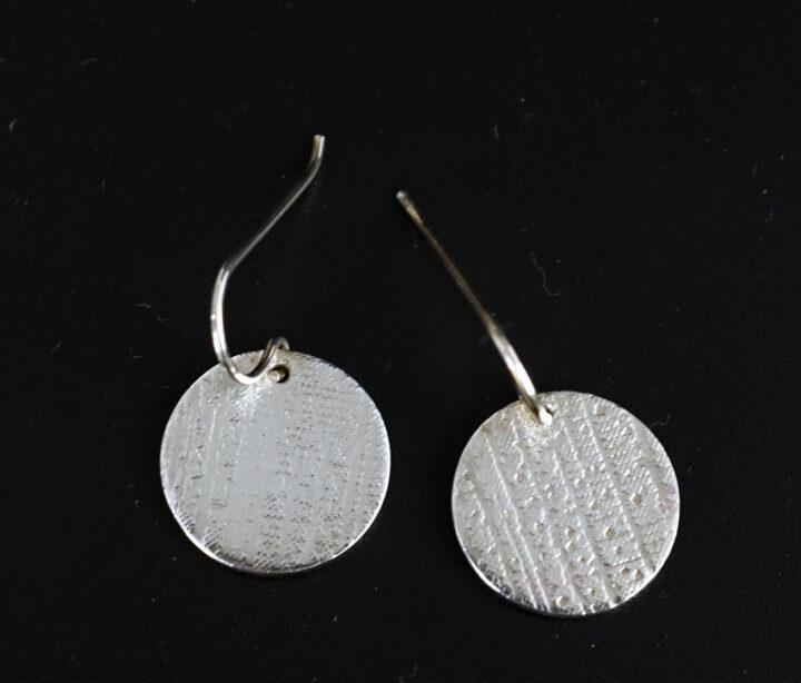 Chris Pruitt Coin Earrings 2