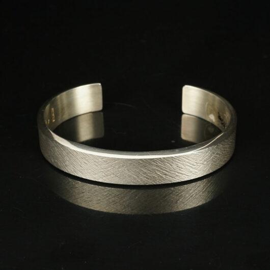 Chris Pruitt textured 3/8 inch bracelet