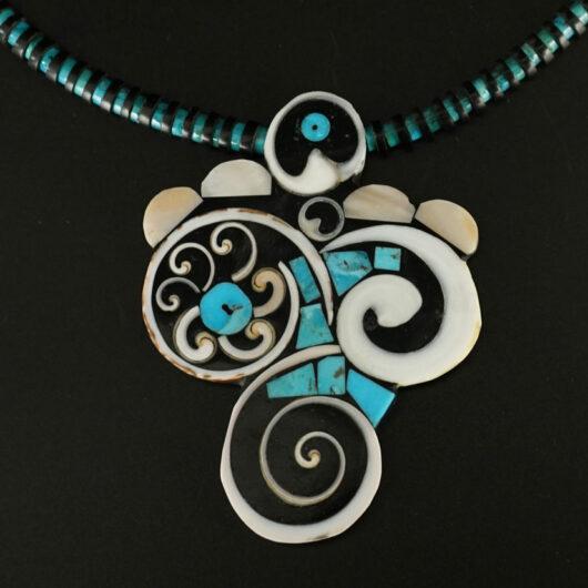 Mary Tafoya Fancy Swirl Necklace