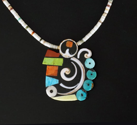 Mary Tafoya Swirl Necklace 2