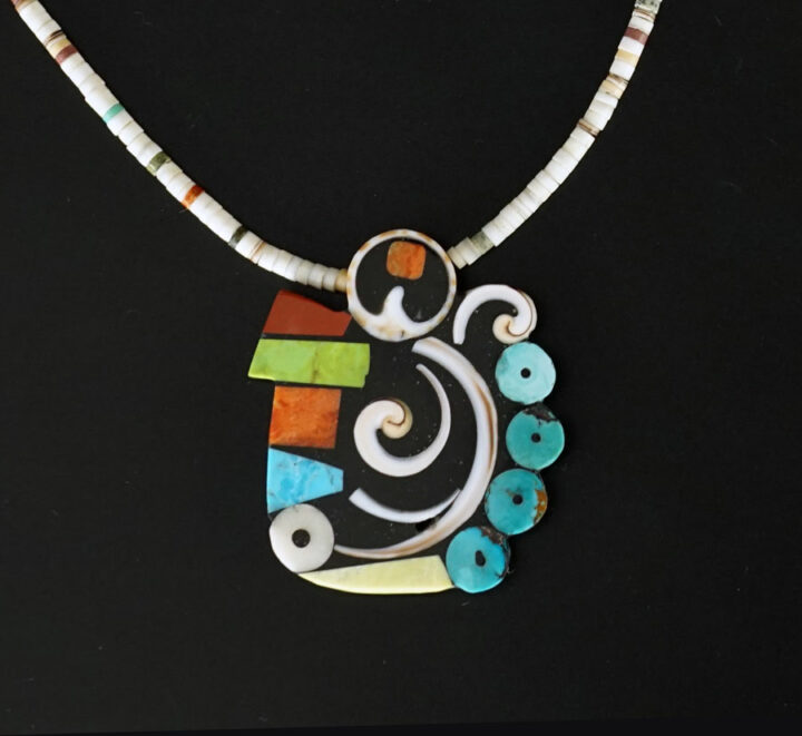 Mary Tafoya Swirl Necklace 2