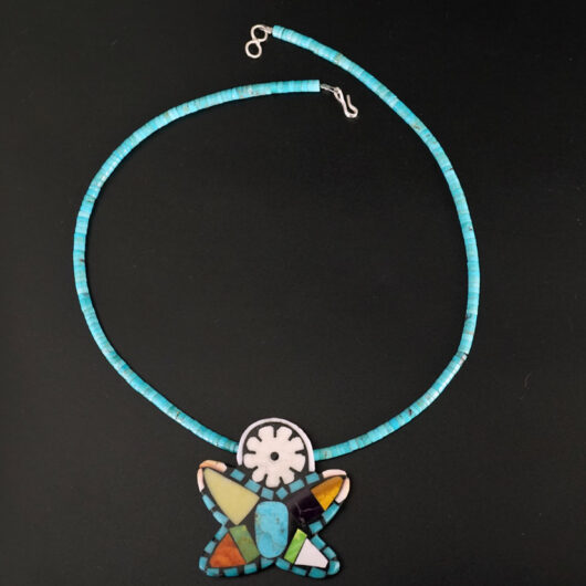 Mary Tafoya Mosaic Star Necklace