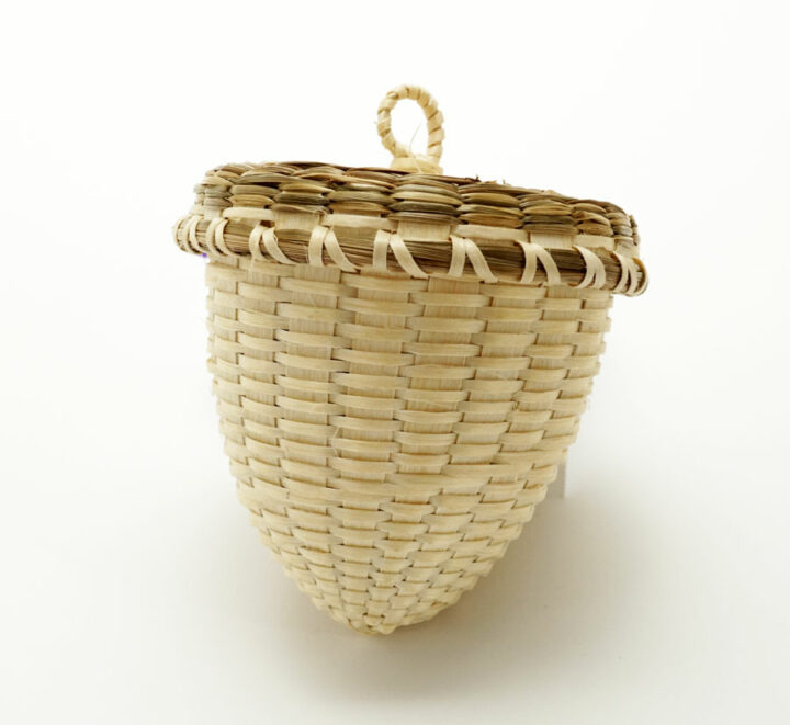 Pam Cunningham Small Acorn Prayers for Humanity Basket