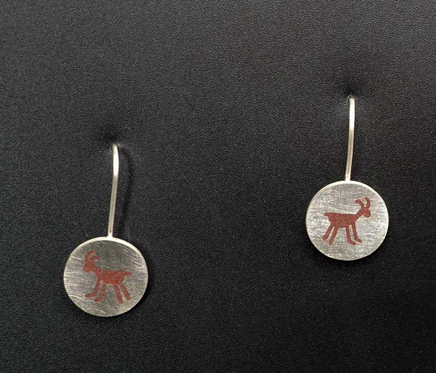 Amelia Joe-Chandler Antelope Inlay Earrings