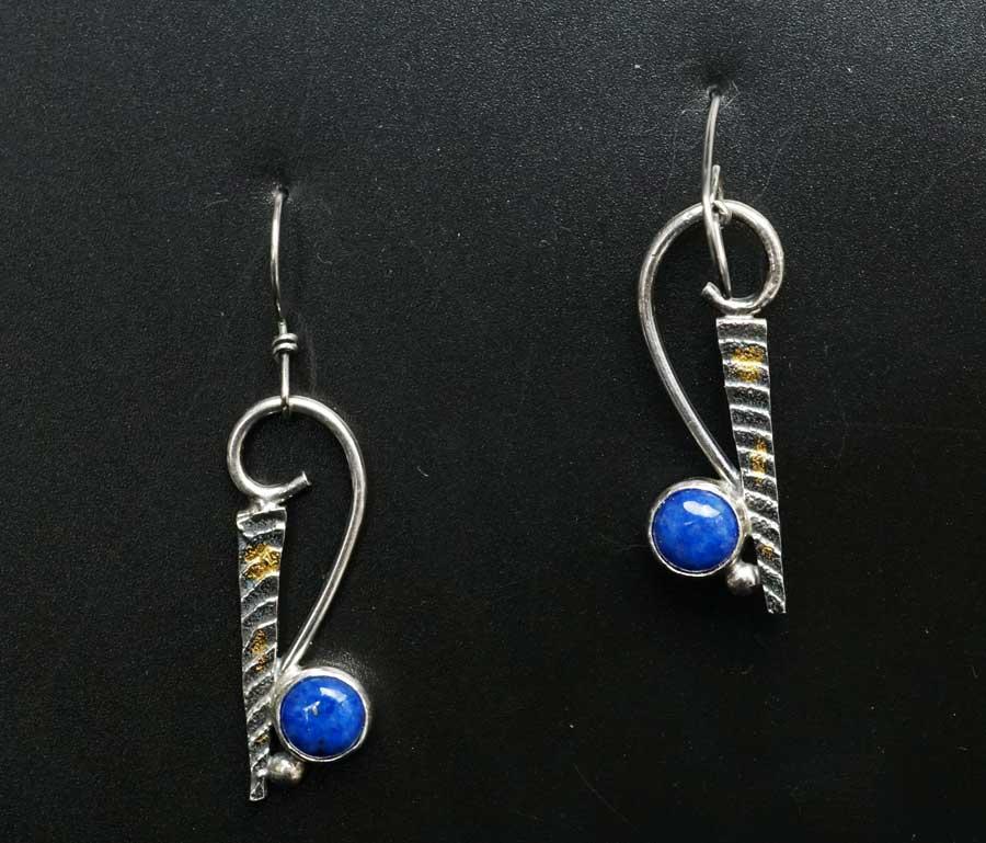 Cheryl Arviso Lapis Lazuli earrings