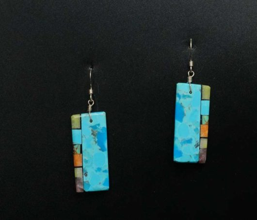 Mary Tafoya Turquoise earrings